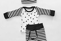 Sewing - Black and White Baby Ideas