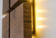 lampu kayu