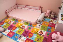 Idéias para quarto de bebê (menina)