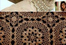 ubrania szydelko