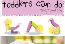 Fit Mommy / Post partum exercises and routines, exercises mama can do with baby, exercise for babies and toddlers.