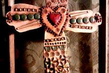 Keramik Kreuze