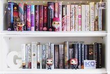 Bookshelf idea and books