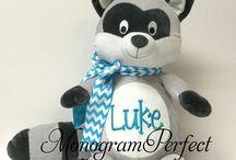 Monogram Perfect Personalized Stuffed Animals