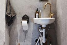 Inspiration- guest toilet