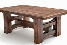 Fa asztalok