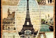 Paris Altered Art