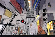 COOL CARTOON ENVIRONMENTS / Inspiring backgrounds from all areas of cartooning