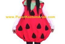Jual Kostum Anak Strawberry