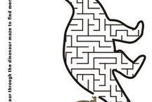 dino labyrint