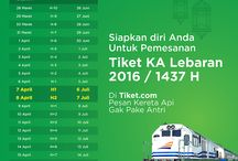 Tiket / Tiket kereta api Indonesia