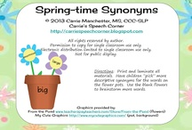 School-Age SLP Bloggers / This pin board is for speech-language pathology bloggers to pin their posts related to school-age speech therapy. Pinners may only pin DIRECT LINKS to their own blog posts or guest posts on other blogs. There will be NO links to TpT. If a blog post is about a product, indicate it as a {Freebie}, $ (for paid), or $ with a {Freebie}. To be added to this pinboard, please e-mail Consonantly Speaking at consonantlyspeaking@gmail.com. / by Speechie Freebies