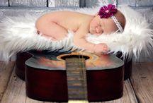 Fotos de menina recém-nascida
