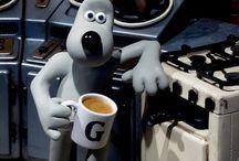 Ian -Aardmann Wallace & Gromit