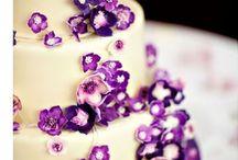 svatební fialová