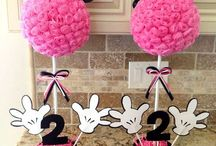 Minnie Mouse Birthday - Kylie is 3!