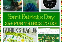 St Patricks Day Food and Crafts for Kids / St Patricks Day ideas for food and crafts and activities for Kids
