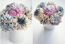 paper flowers / by Catarina Porto