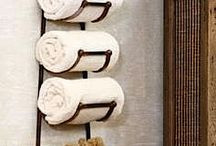 Towel Racks / by Tiffany Welsh Padilla
