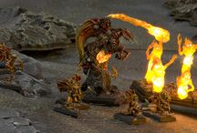 Warhammer/Fantasy/Miniatures / Tabletop - Warhammer, Fantasy, Zombies, Gnomes, Flames of War / by Lee Cherry