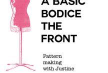 pattern making and adjustment