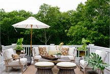 Outdoor Living Spaces / For those who want the comforts of inside, outside.