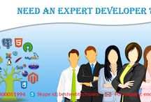 Hire Developer / To make your idea on a perfect shape, you need to hire a professional #developer who can understand your requirements, polish it on their own way and build a perfect project that leave an impressive response to users. Hiring an expert becomes very challenging step for the client, getting a suitable programmer for your #website could be lead your project on hike. Let touch your business on a heights.
