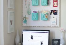 WORKSPACE {office inspiration} / Dreams come true sitting at a desk. Get inspired with the Levnow workspace, home office pins.
