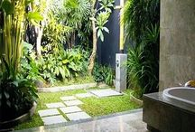 Indoor/outdoor Bathroom ideas