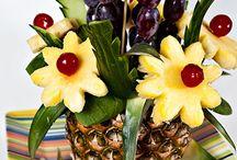 Arranjos de frutas