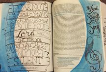 Exodus--Bible Journaling by Book / Bible Journaling examples from the book of Exodus