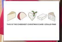 Cheesy cards