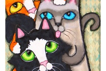 my favorite cats / by Cheryl Peden
