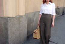 Thirties & Forties fashion: then and now