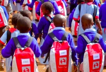 Kenya / Karura Forest Phase 1 (March 2012) - 224 SchoolBags sent to the children of the Karura Forest School on the outskirts of Nairibi. The consignment also included 224 hand knitted teddies from our wonderful knitters dotted around the UK. The SchoolBags were distrubuted by the friends of the Karura Forest Organisation.  Karura Forest Phase 2 -   Msanbweni -