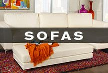 Sofas / Kane's has the ultimate selection of sofas and sectionals in every fabric, color, and style imaginable.  / by Kane's Furniture