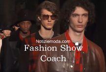 Coach uomo / Coach collezione e catalogo primavera estate e autunno inverno abiti abbigliamento accessori scarpe borse sfilata uomo.