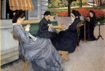 Gustave Caillebotte (1848 - 1894) / Art from France.