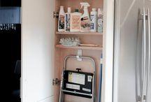 fridges in tight corners