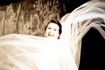 Weddings - Bridal Veils / Who doesn't love a bridal veil? Oh OK these days a lot of brides. As a wedding photographer veils can be superb in photos - unexpectedly caught by the breeze, swirling and twirling tuile! / by Pierre Mardaga