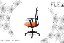 Flexa / The new moving chair.  Having better working days is possible.