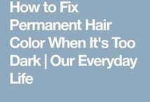 Mom dark hair dye tips