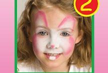 Deguisement peinture visage