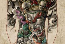 Schiena tattoo