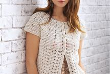 Crochet Sweaters, Shawls and Tops / crochet sweaters and tops