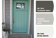 Open the Door / House door color inspiration