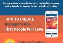 Infographics - Instagram / Infographics related to Marketing and Advertising in Instagram