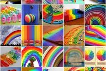 Color >> Rainbow / by Bernadette Kay Post Nierman