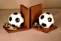 Bookends for footballs / Football designs for bookends