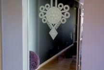 Drzwi szklane wahadłowe Dubiel Glass / www.dubielglass.pl